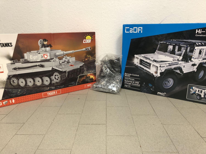 Lego Alternativen von Bluebrixx, Cobi und Cada