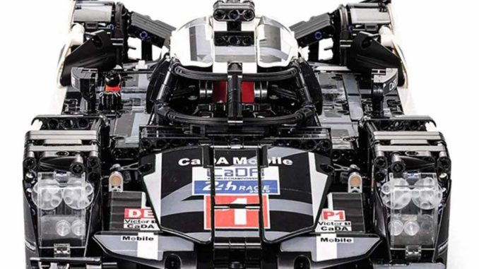 Cada Porsche als Lego Alternative