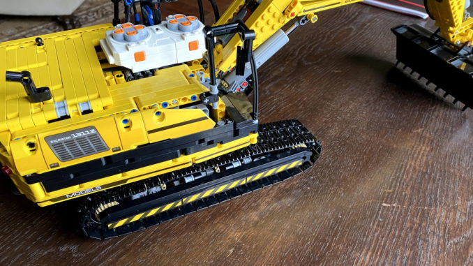 Lego Technic Alternative - Mould King Raupenbagger