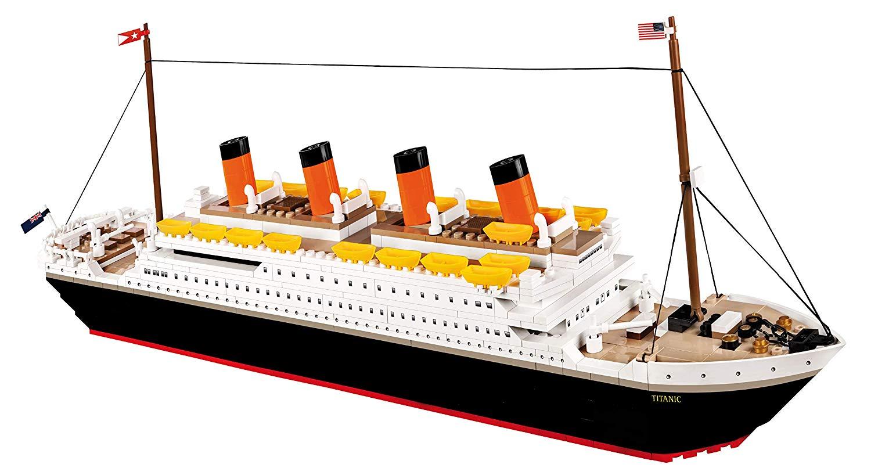 lego titanic cobi