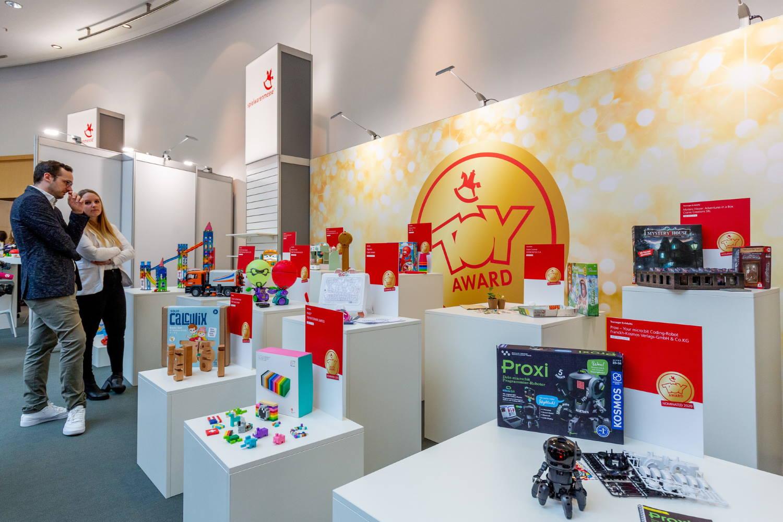 """""""spiel gut"""" auf der Spielwarenmesse 2020 in Nürnberg: Die Suche nach prämierungswürdigen Produkten"""
