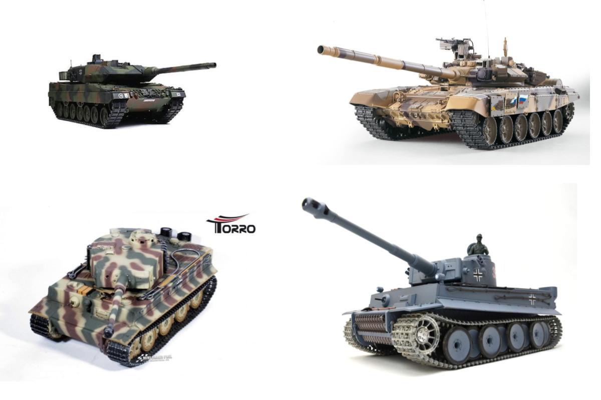 RC Panzer Metall