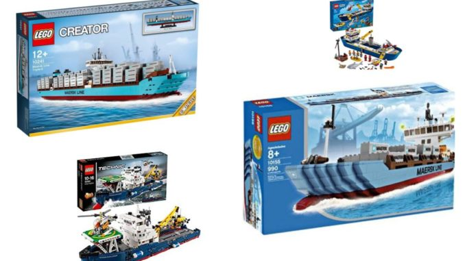 Lego Containerschiffe