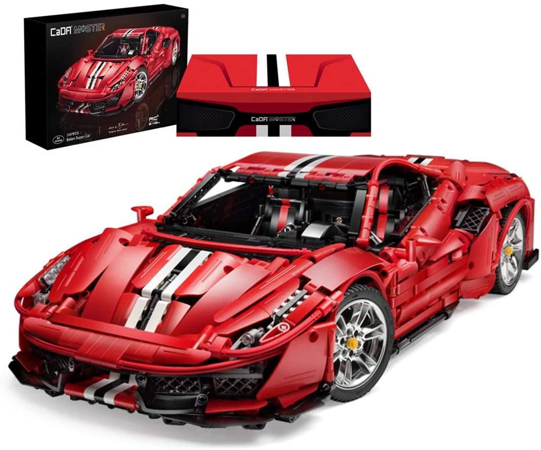 Cada Master Ferrari (C61042w oder C61043w) – der bessere Lego Ferrari?