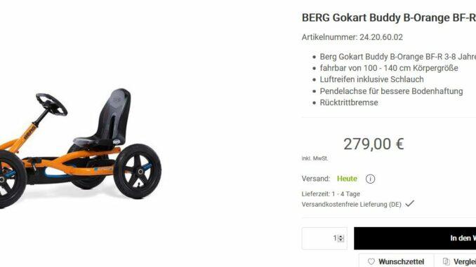 Berg Gokart bei Gokart-profi.de